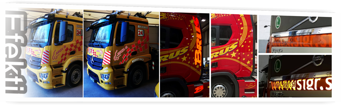 Tovornjaki - efekti